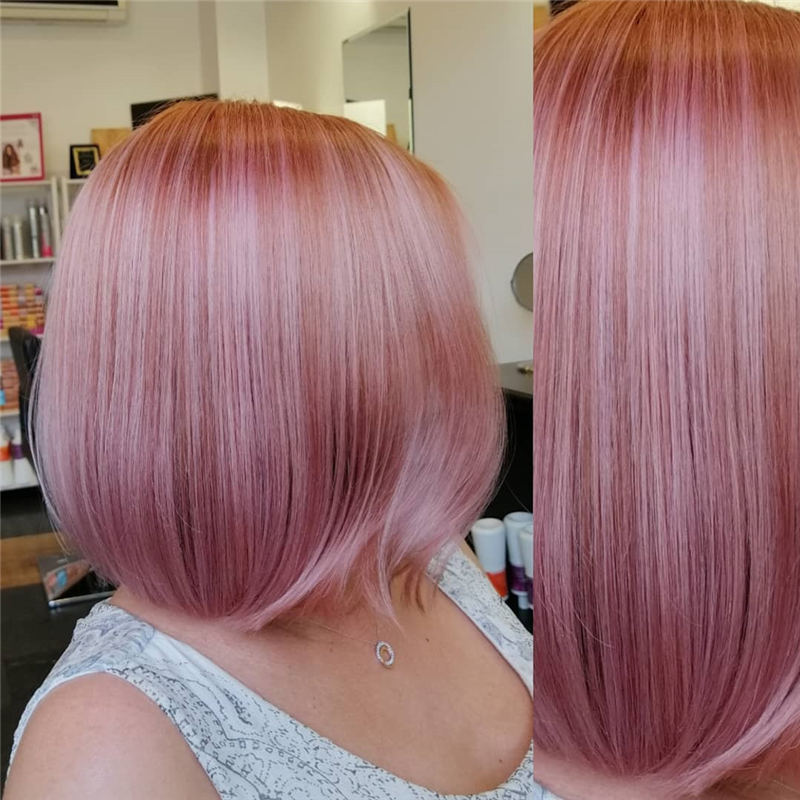 Latest Summer Hair Colors for 2020 02