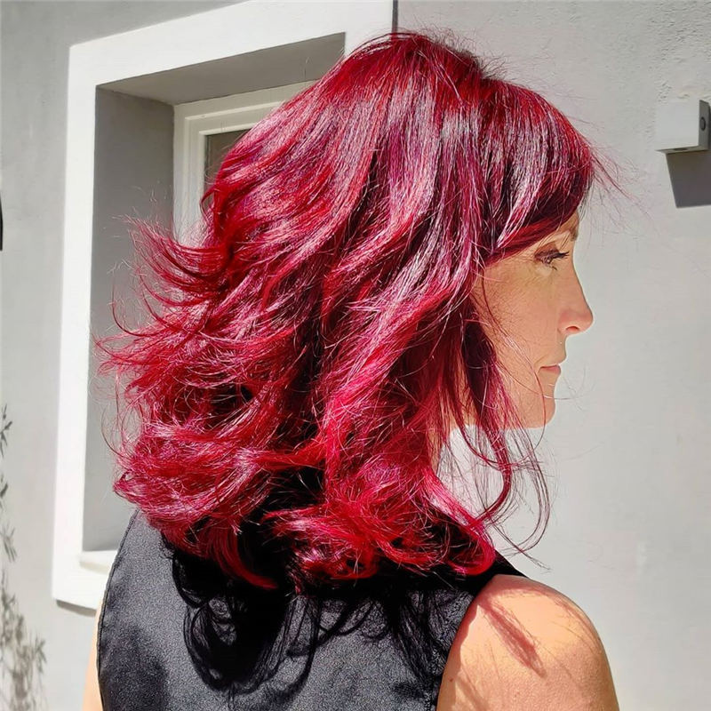 Latest Summer Hair Colors for 2020 04