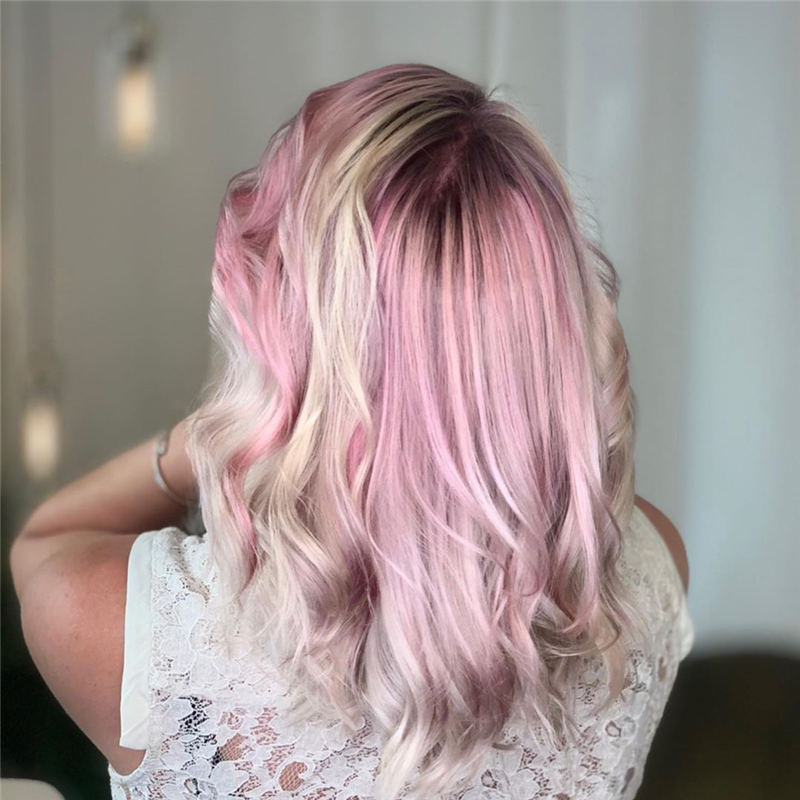 Latest Summer Hair Colors for 2020 15