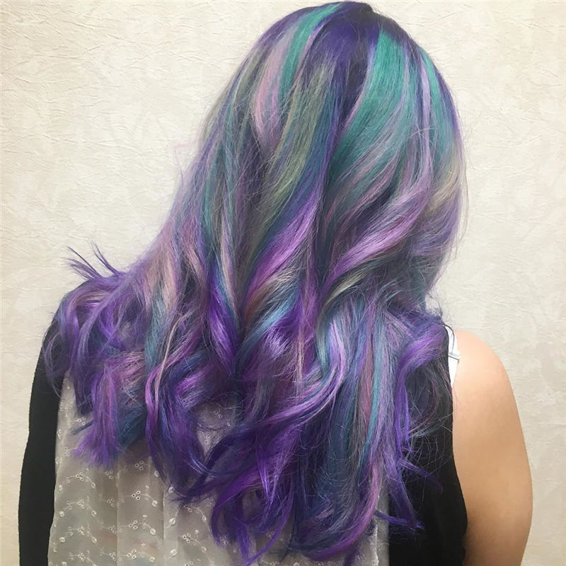Latest Summer Hair Colors for 2020 18
