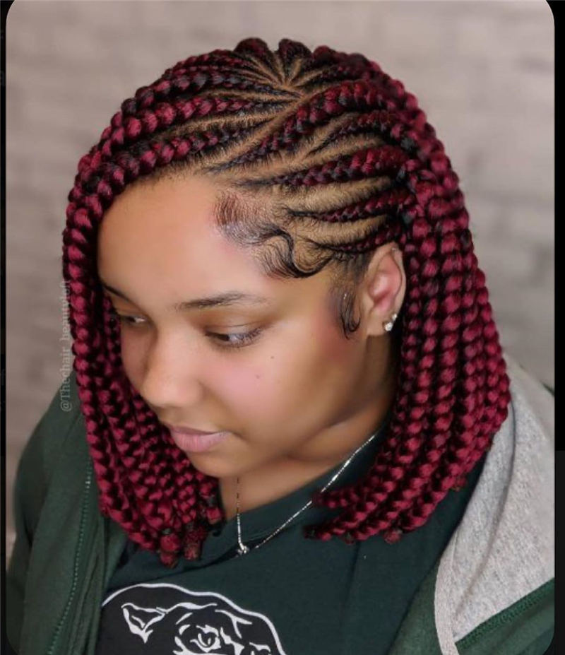 58 Short Braided Hairstyles You Can't Miss 2020 - Page 10 of 58 - HairstyleZoneX