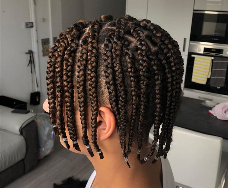 Short Braided Hairstyles You Cant Miss 2020 46