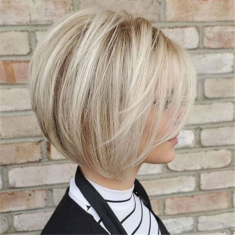 Best Inverted Bob Haircuts for Fine Hair 03