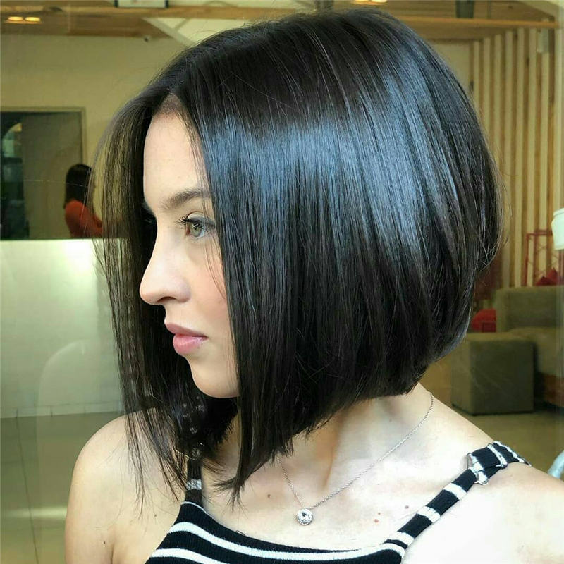 Best Inverted Bob Haircuts for Fine Hair 06