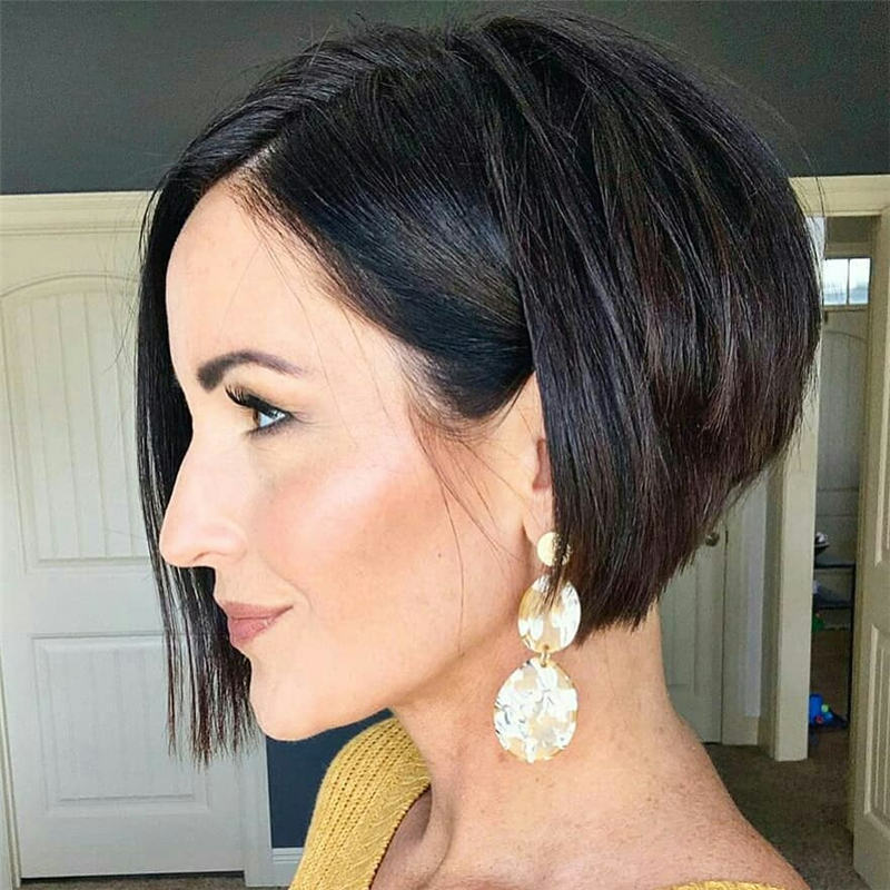 Best Inverted Bob Haircuts for Fine Hair 07