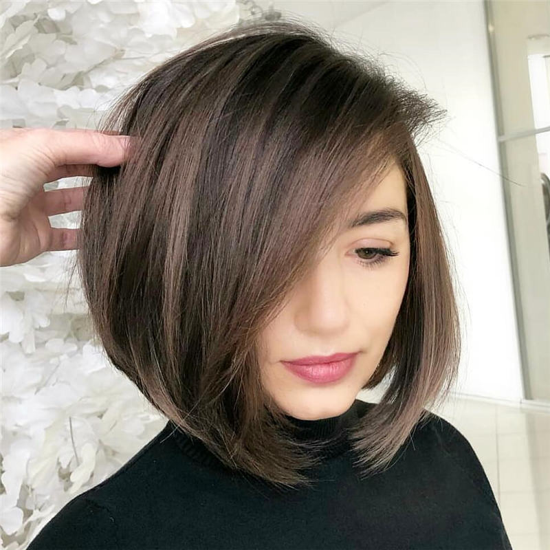 Best Inverted Bob Haircuts for Fine Hair 13