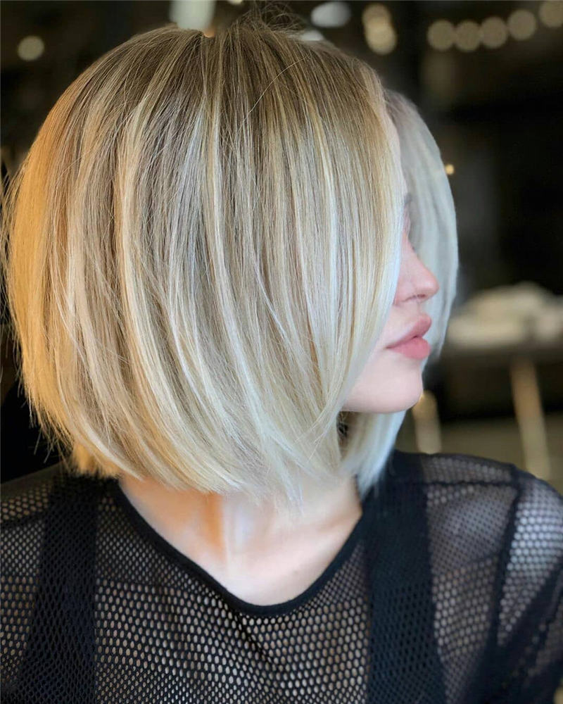 Best Inverted Bob Haircuts for Fine Hair 15
