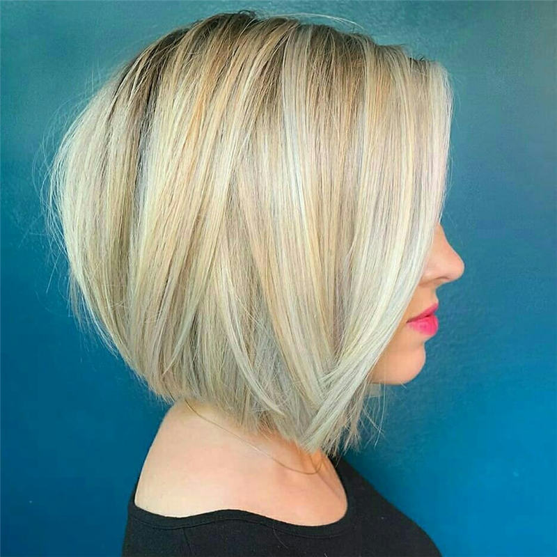 Best Inverted Bob Haircuts for Fine Hair 22