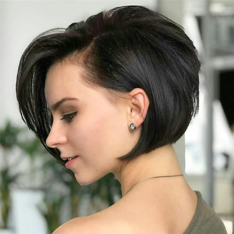 Best Inverted Bob Haircuts for Fine Hair 23