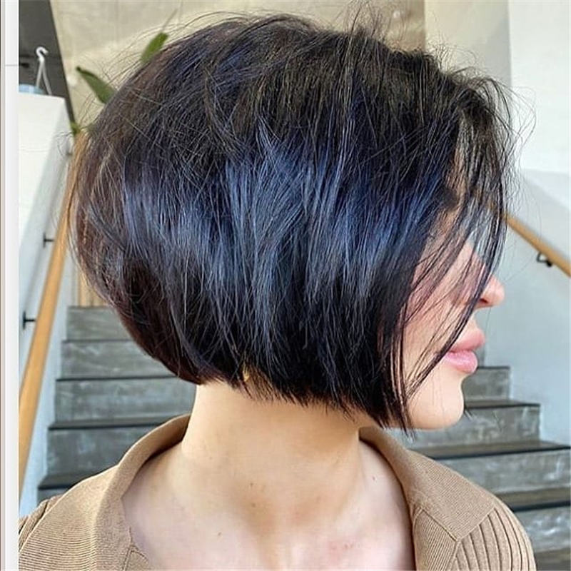 Best Inverted Bob Haircuts for Fine Hair 26