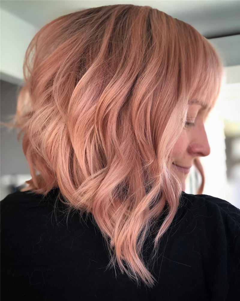 Best Inverted Bob Haircuts for Fine Hair 34