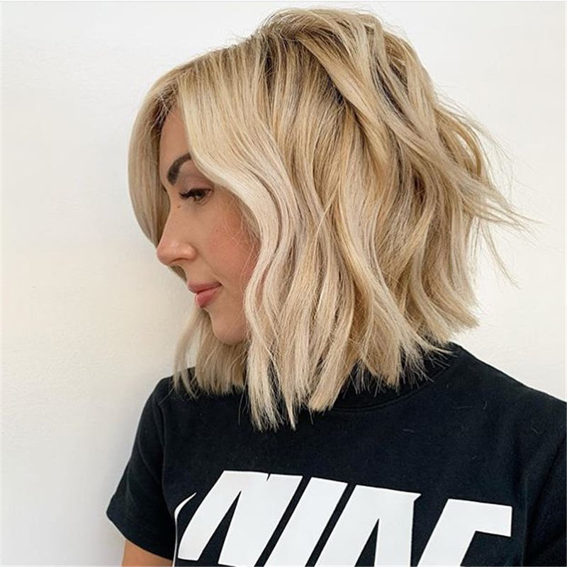 Best Inverted Bob Haircuts for Fine Hair 36