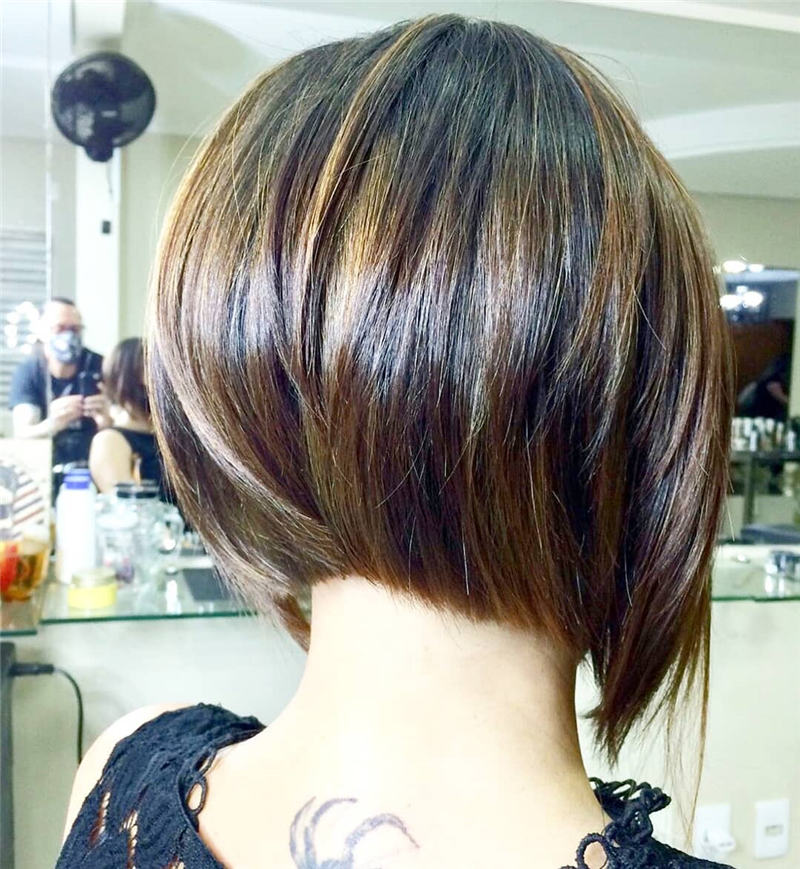 Best Inverted Bob Haircuts for Fine Hair 42