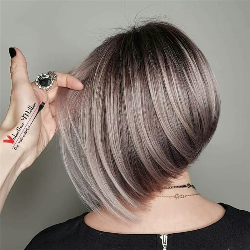 Best Inverted Bob Haircuts for Fine Hair 43