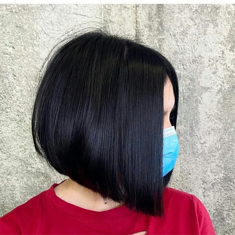 Best Inverted Bob Haircuts for Fine Hair 44