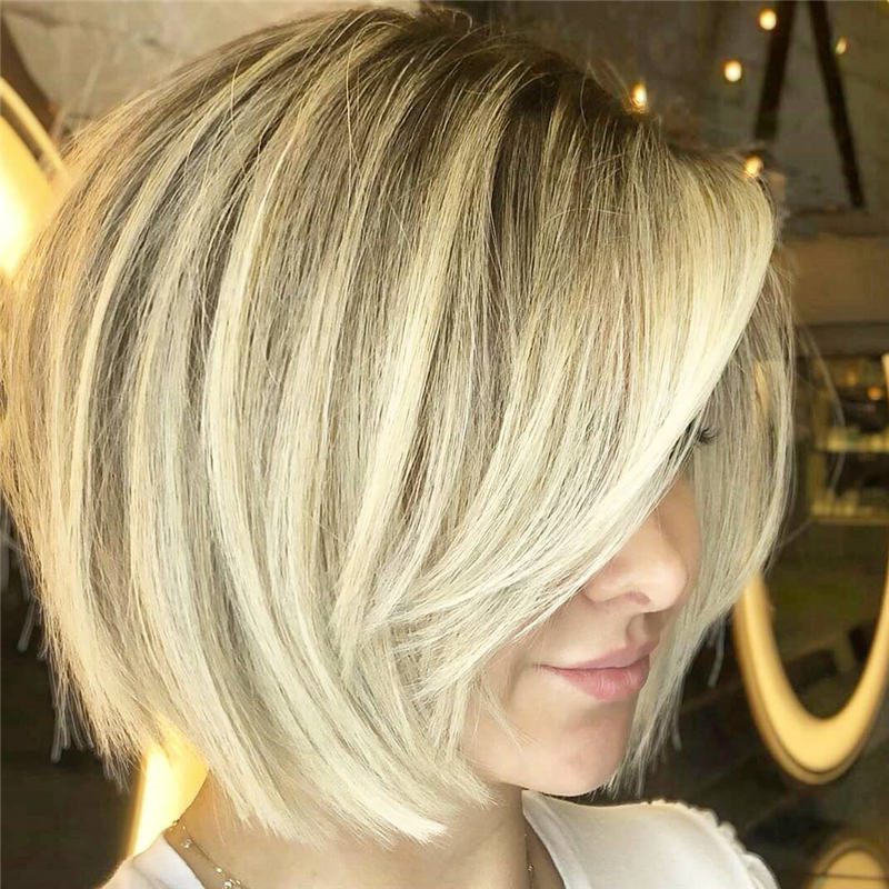 Best Inverted Bob Haircuts for Fine Hair 47