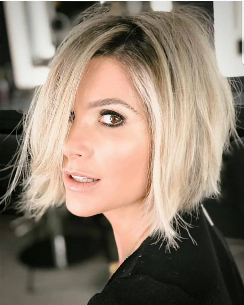 Best Inverted Bob Haircuts for Fine Hair 49