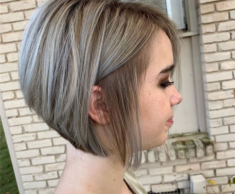 Best Stacked Hairstyles for Short Hair 2020 26
