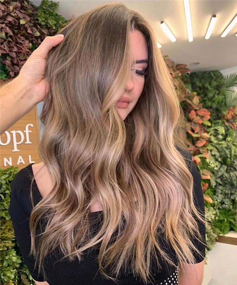 Cool Ideas with Light Brown Hair Color for 2020 14