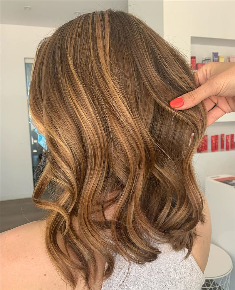 Cool Ideas with Light Brown Hair Color for 2020 18