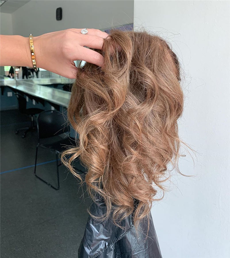 Cool Ideas with Light Brown Hair Color for 2020 19