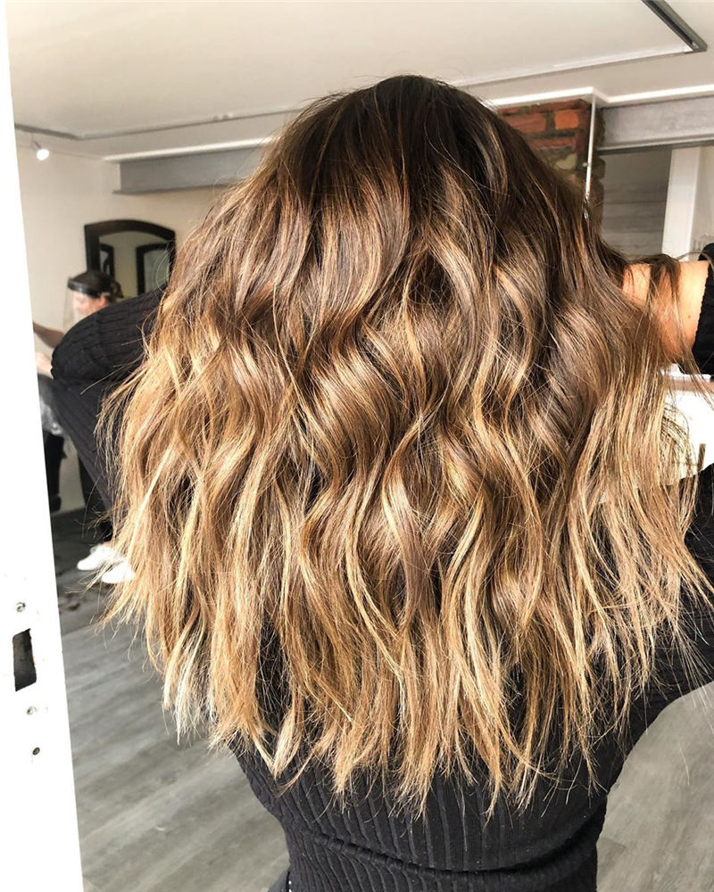 Cool Ideas with Light Brown Hair Color for 2020 22