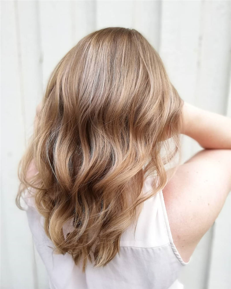 Cool Ideas with Light Brown Hair Color for 2020 24