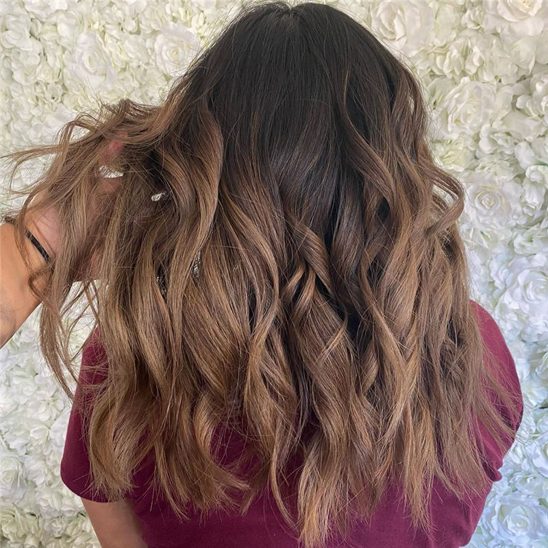 Cool Ideas with Light Brown Hair Color for 2020 27