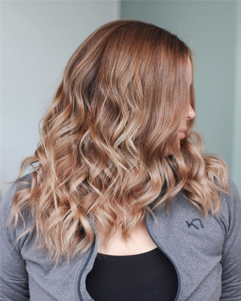 Cool Ideas with Light Brown Hair Color for 2020 31