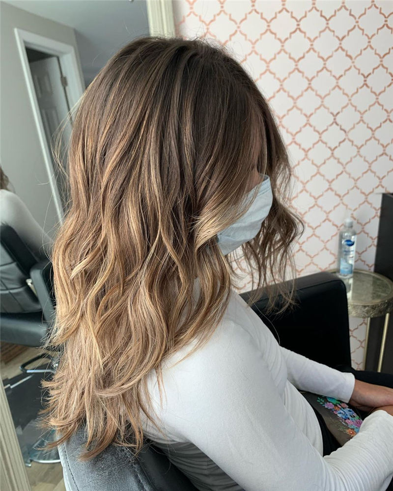 Cool Ideas with Light Brown Hair Color for 2020 39