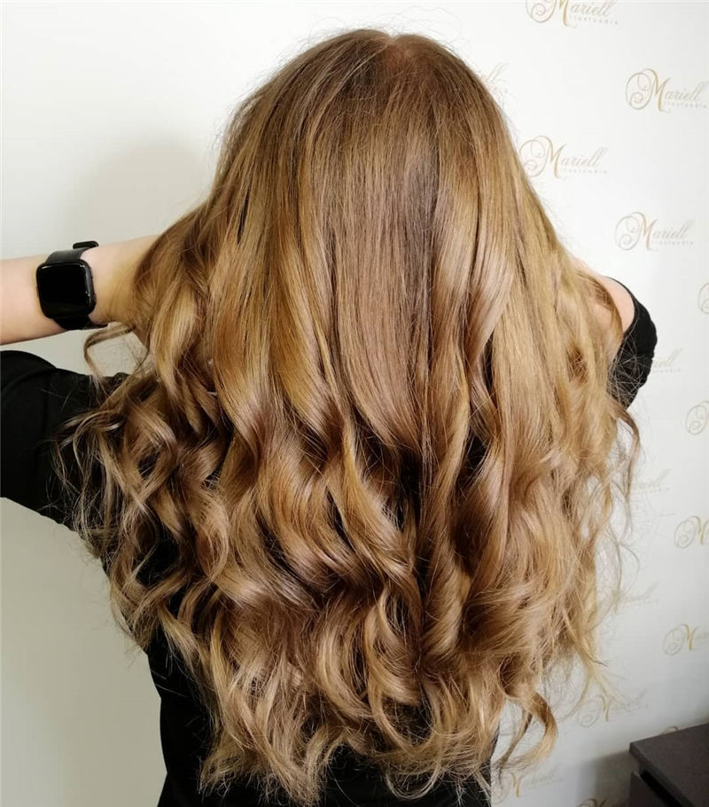 Cool Ideas with Light Brown Hair Color for 2020 40