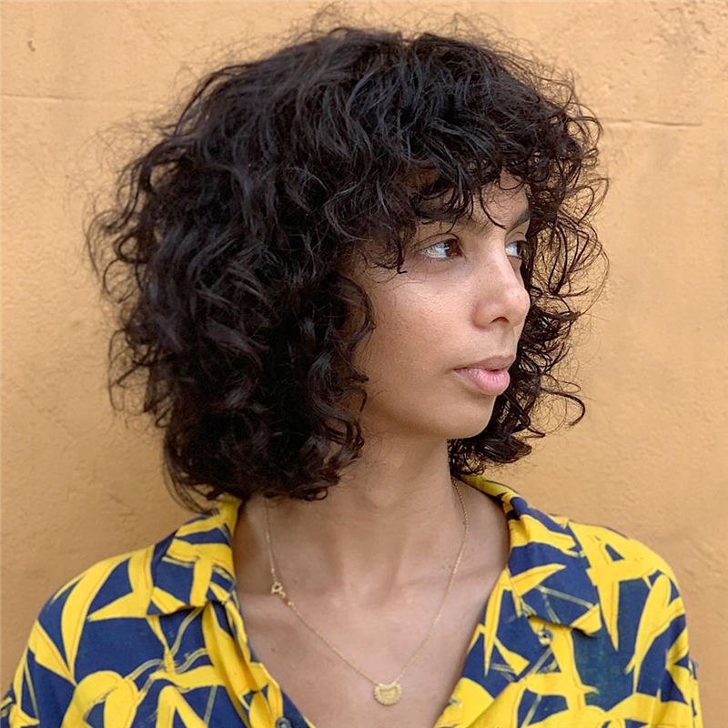 Curly Bob Hairstyles To Copy Asap for This Year 10
