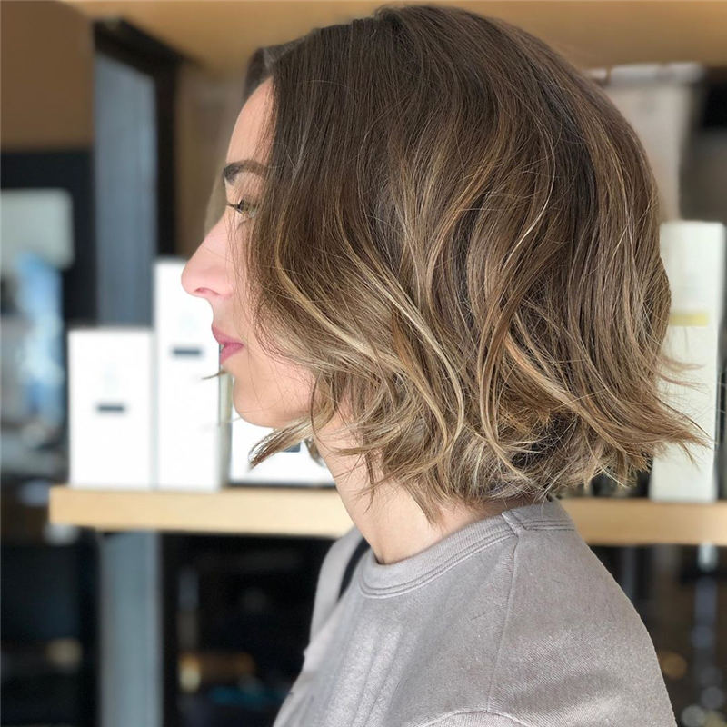 Curly Bob Hairstyles To Copy Asap for This Year 13