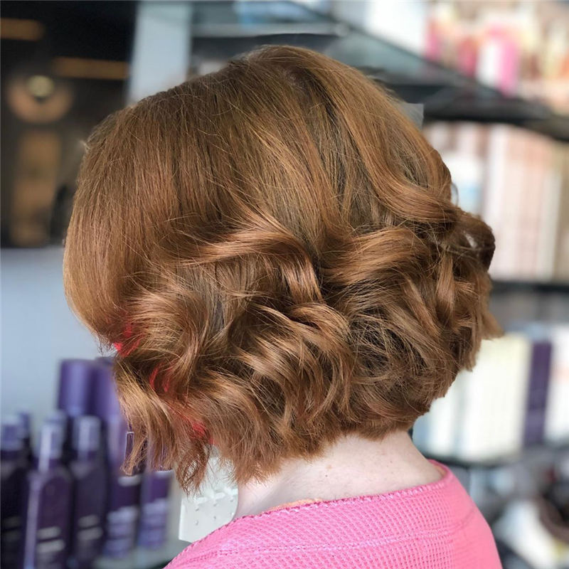 Curly Bob Hairstyles To Copy Asap for This Year 23