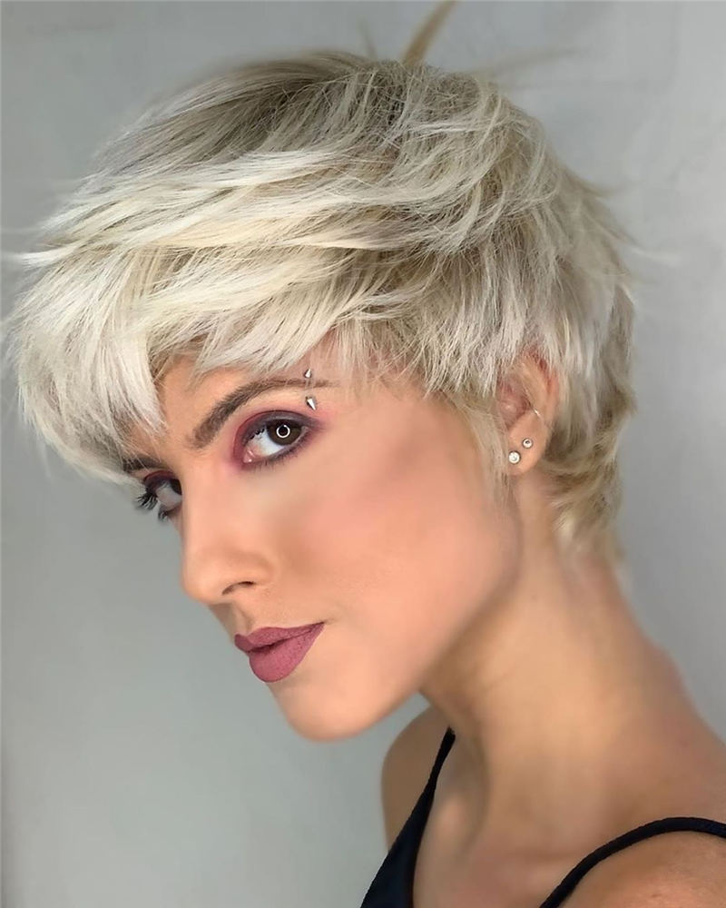 Simple Easy Pixie Haircuts That Brighten Up Your Look 02