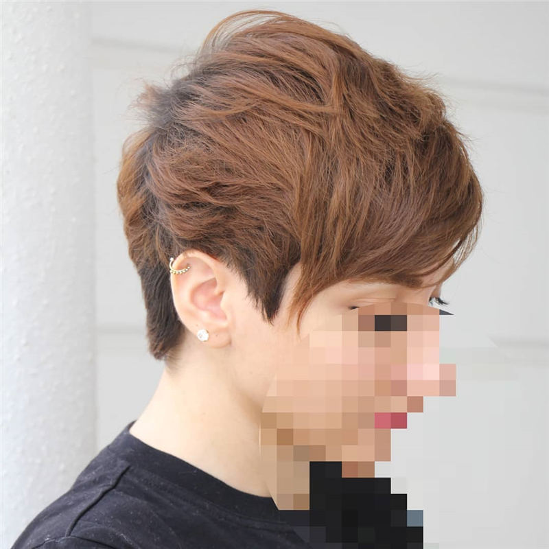 Simple Easy Pixie Haircuts That Brighten Up Your Look 22