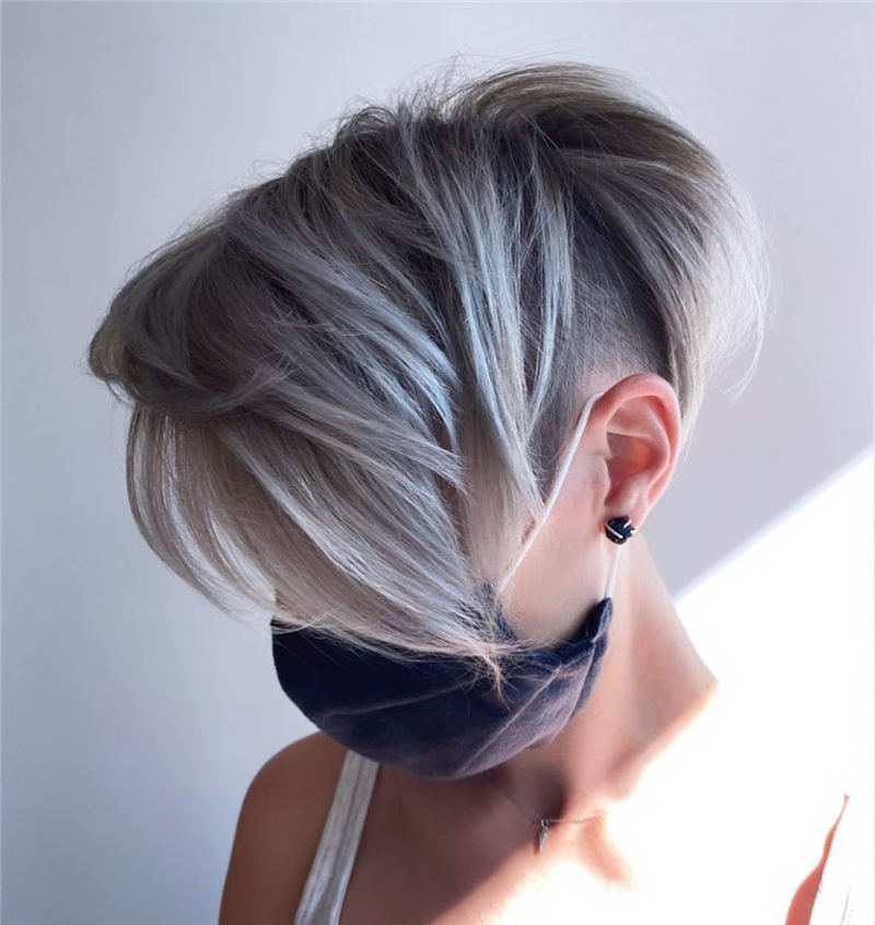 Simple Easy Pixie Haircuts That Brighten Up Your Look 39