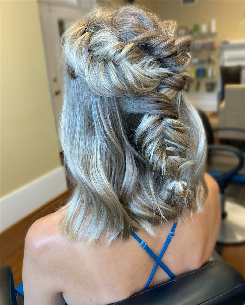 Stunning Bridesmaid Hairstyles Make You Look Beautiful 03