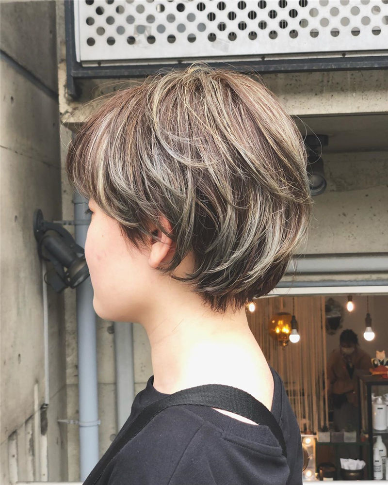 Trendy Asian Hairstyles with Bangs for 2020 29