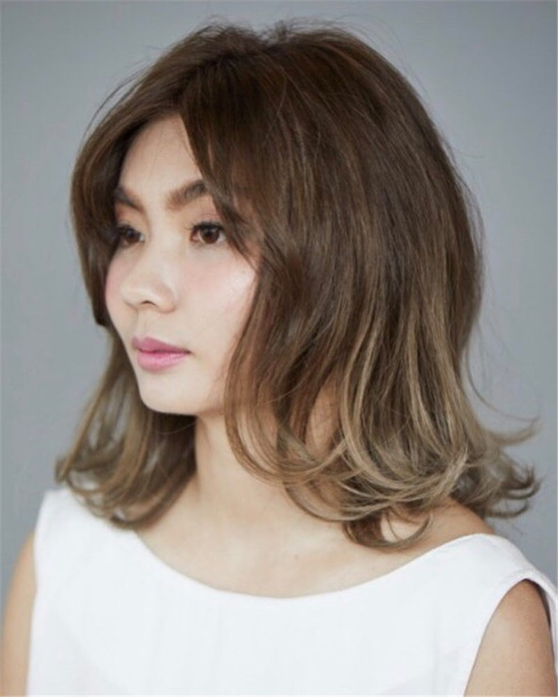 Trendy Asian Hairstyles with Bangs for 2020 38