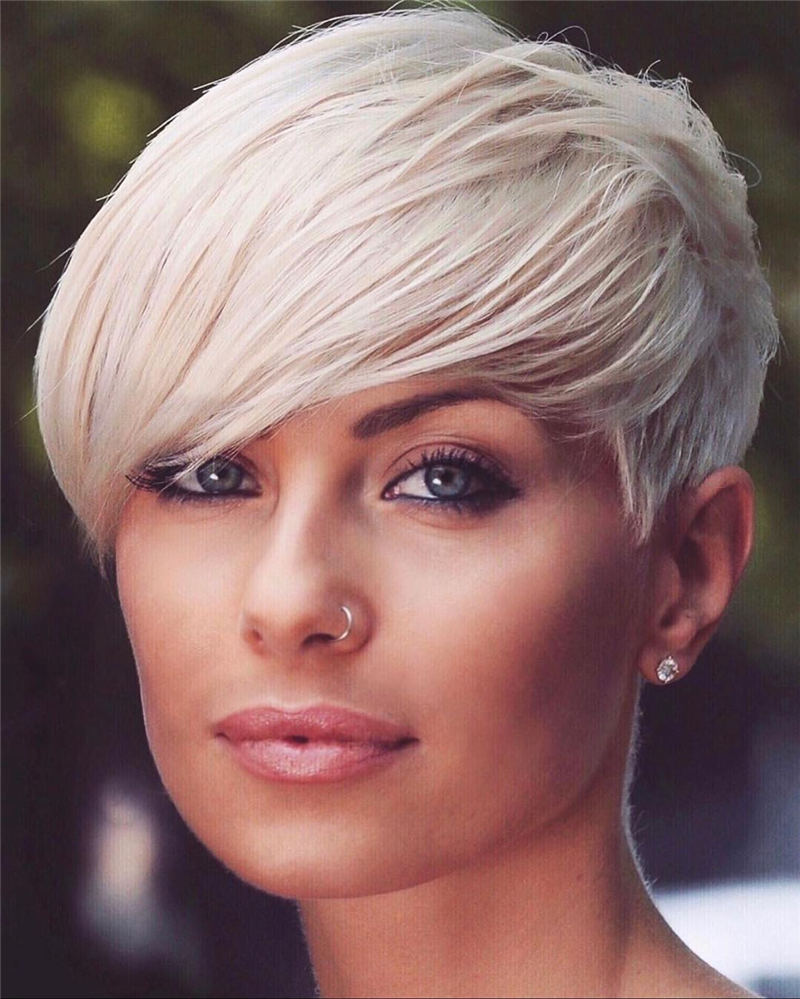 Amazing Easy Pixie Haircuts for Round Faces 01