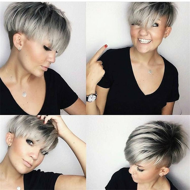 Amazing Easy Pixie Haircuts for Round Faces 02