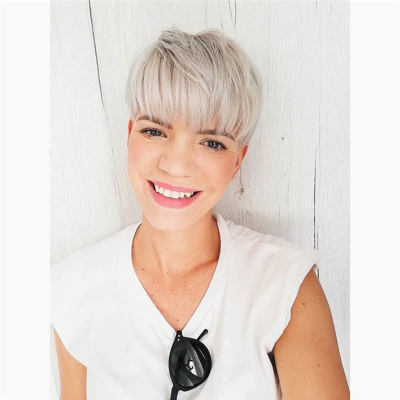 Amazing Easy Pixie Haircuts for Round Faces 06