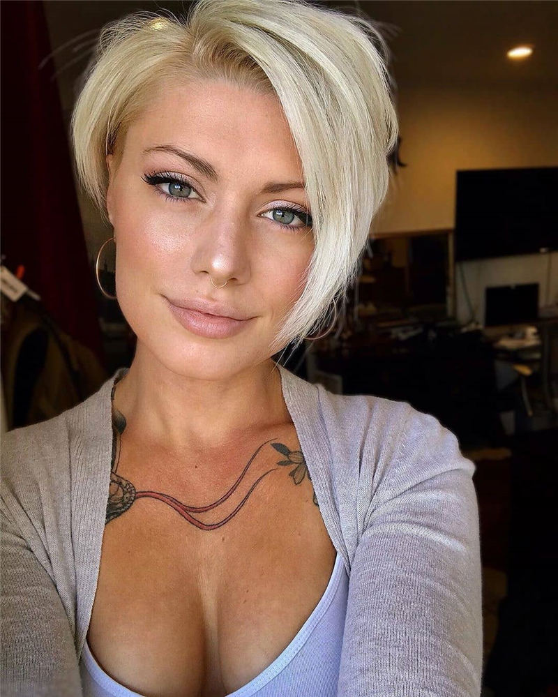 Amazing Easy Pixie Haircuts for Round Faces 07