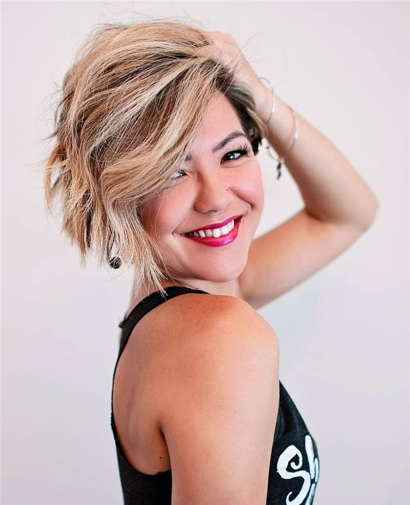Amazing Easy Pixie Haircuts for Round Faces 09