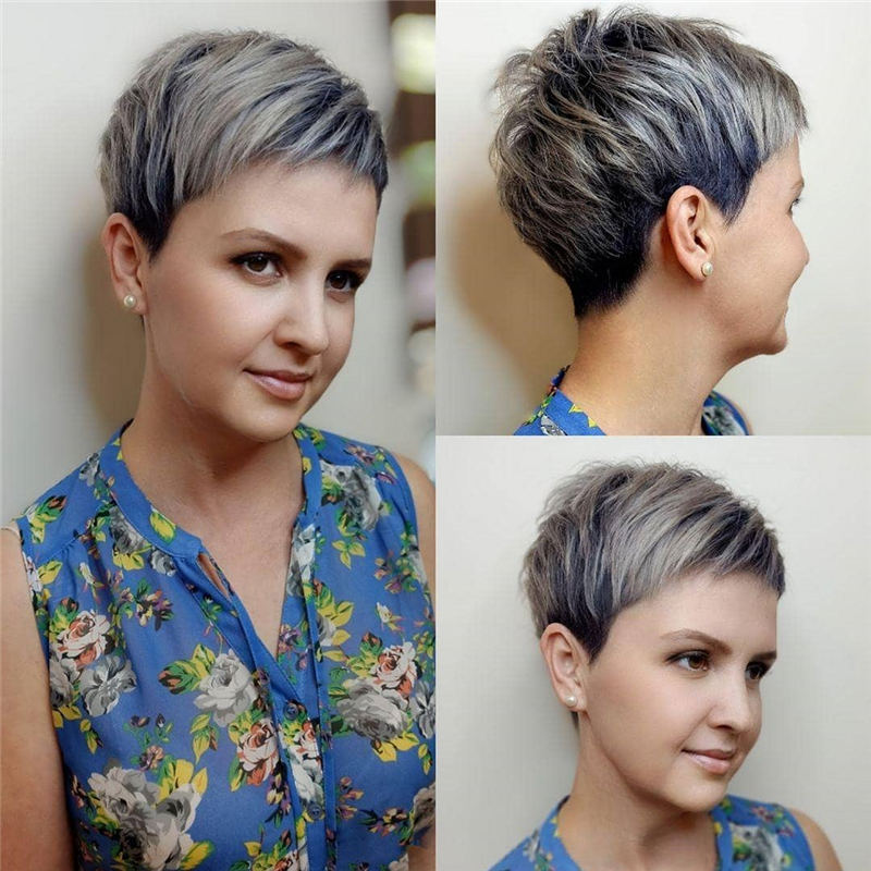 Amazing Easy Pixie Haircuts for Round Faces 10