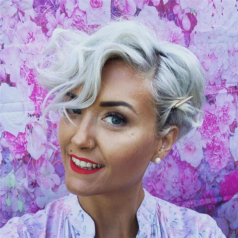 Amazing Easy Pixie Haircuts for Round Faces 15