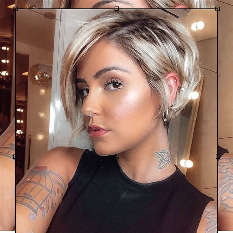 Amazing Easy Pixie Haircuts for Round Faces 17