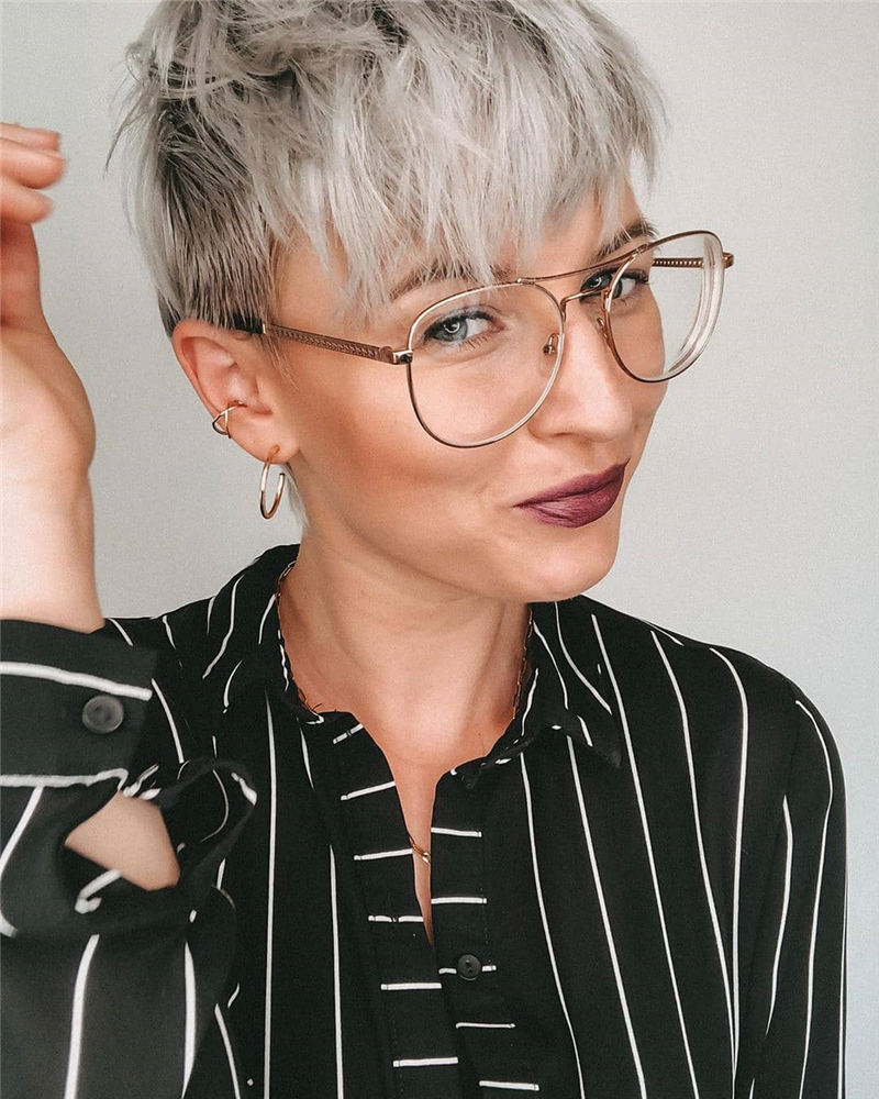 Amazing Easy Pixie Haircuts for Round Faces 19