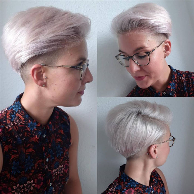 Amazing Easy Pixie Haircuts for Round Faces 27